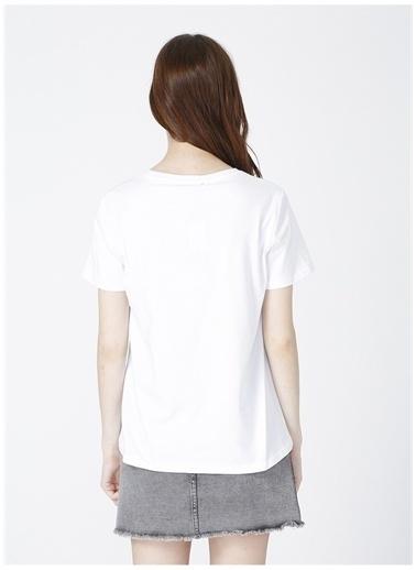 Black On Black Black On Black T-Shirt Beyaz